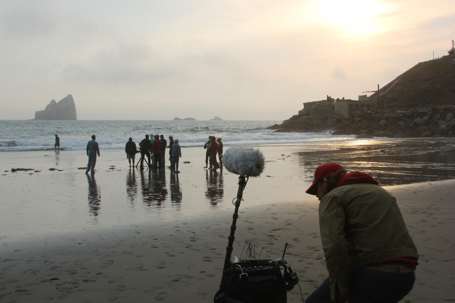 Black Road Crew filming on Oregon Coast